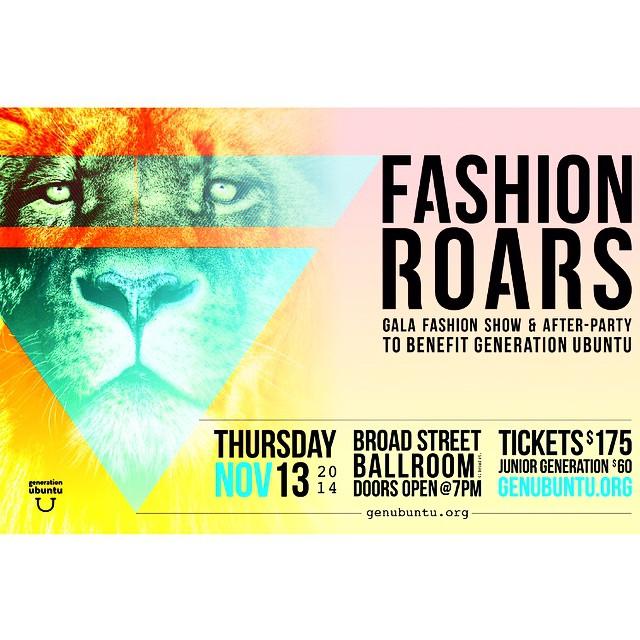 Fashion Roars NYC 2014