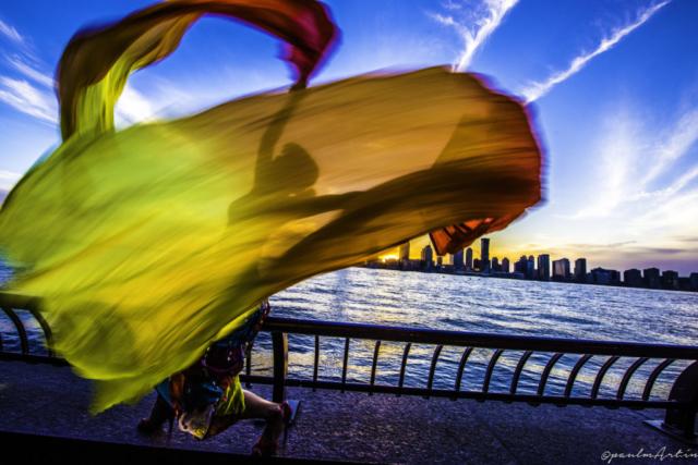 Chun the dancer Photography by Paul Martin